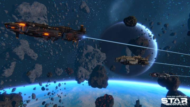 Новые скриншоты к игре Star Conflict