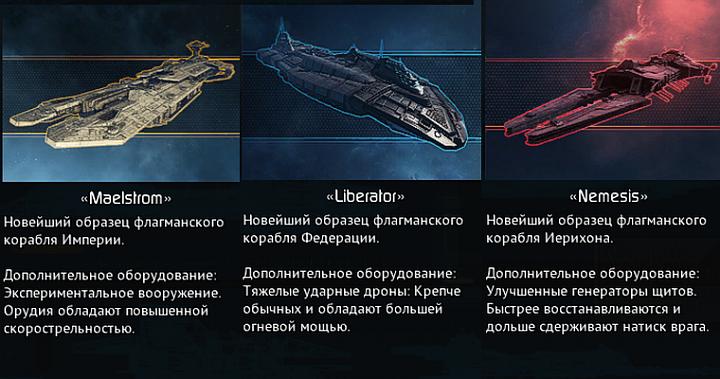 Дредноуты в Star Conflict